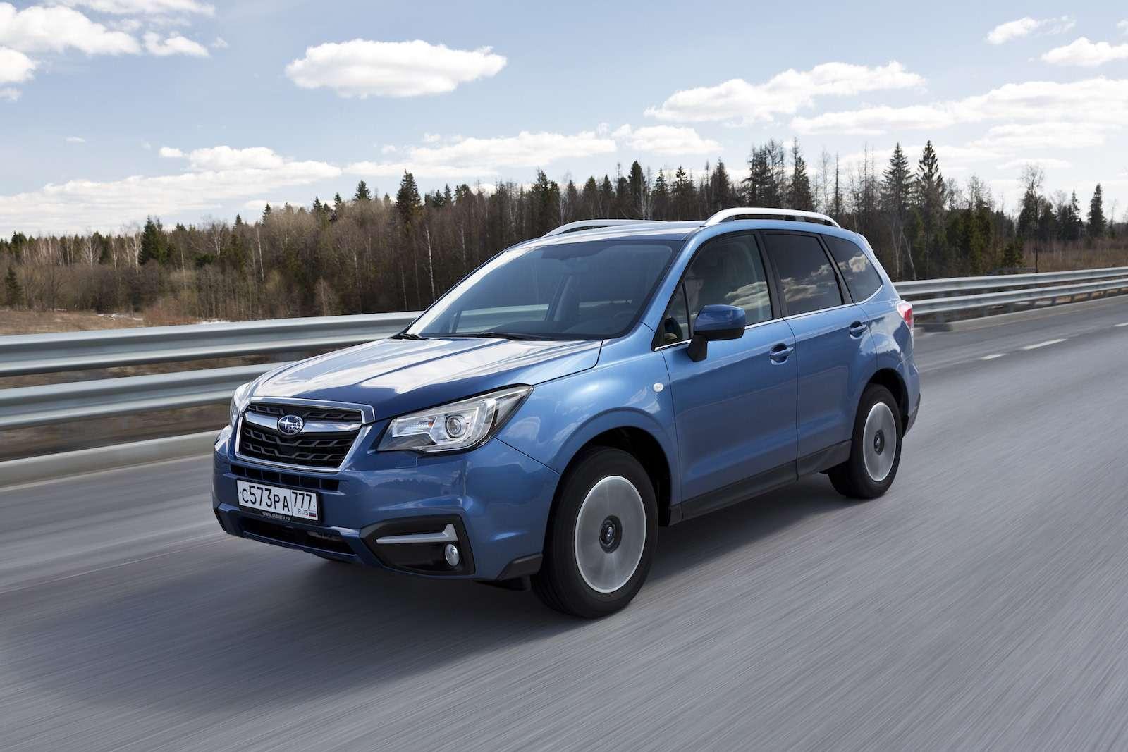 Обновленный  Subaru Forester: тише едешь...— фото 594311