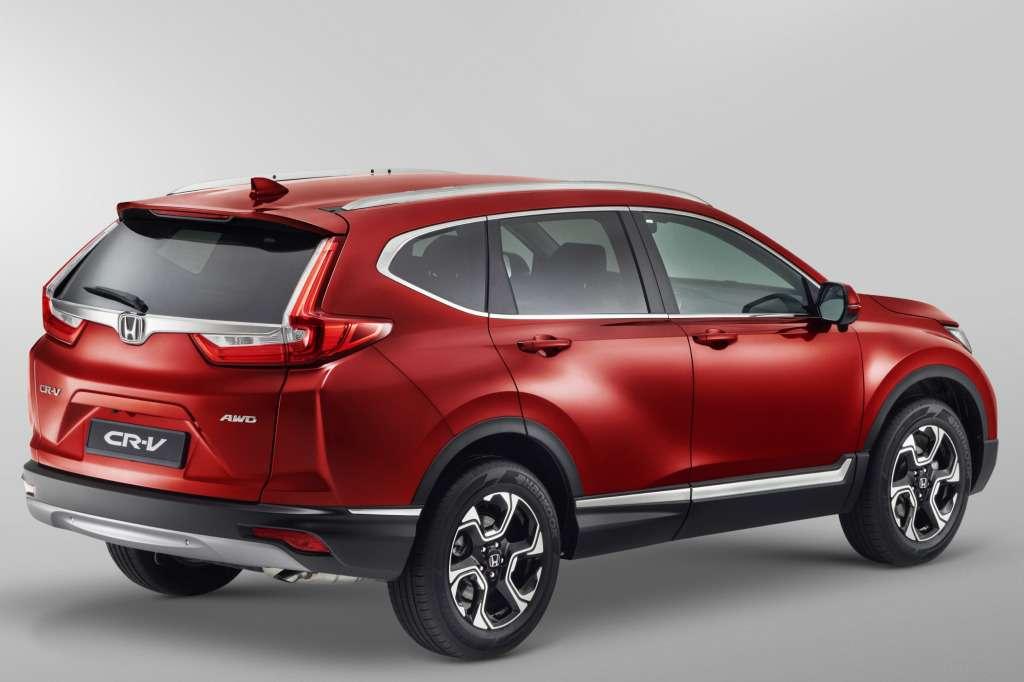 Новая Honda CR-V приехала вРоссию: названы цены— фото 753526