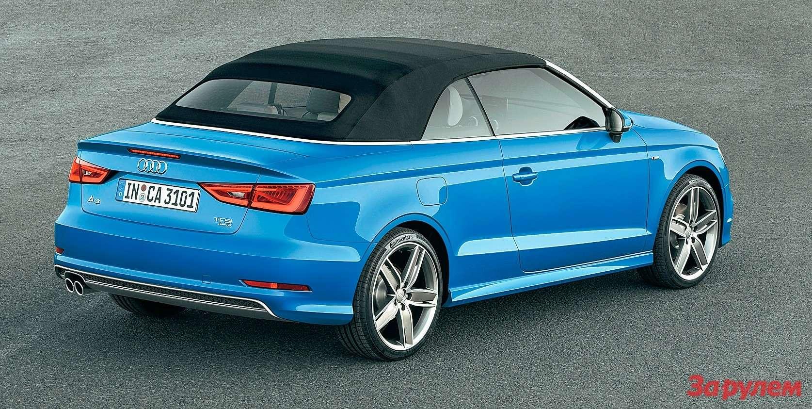 Audi A3: без шапки, носшарфом — фото 263850