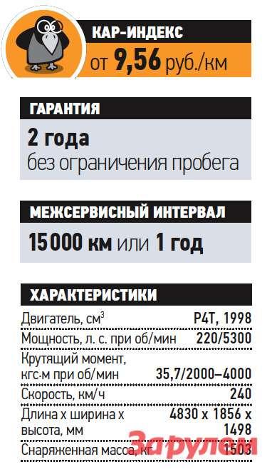 «Опель-Инсигния-2,0T», от1075000 руб., КАР от9,56 руб./км