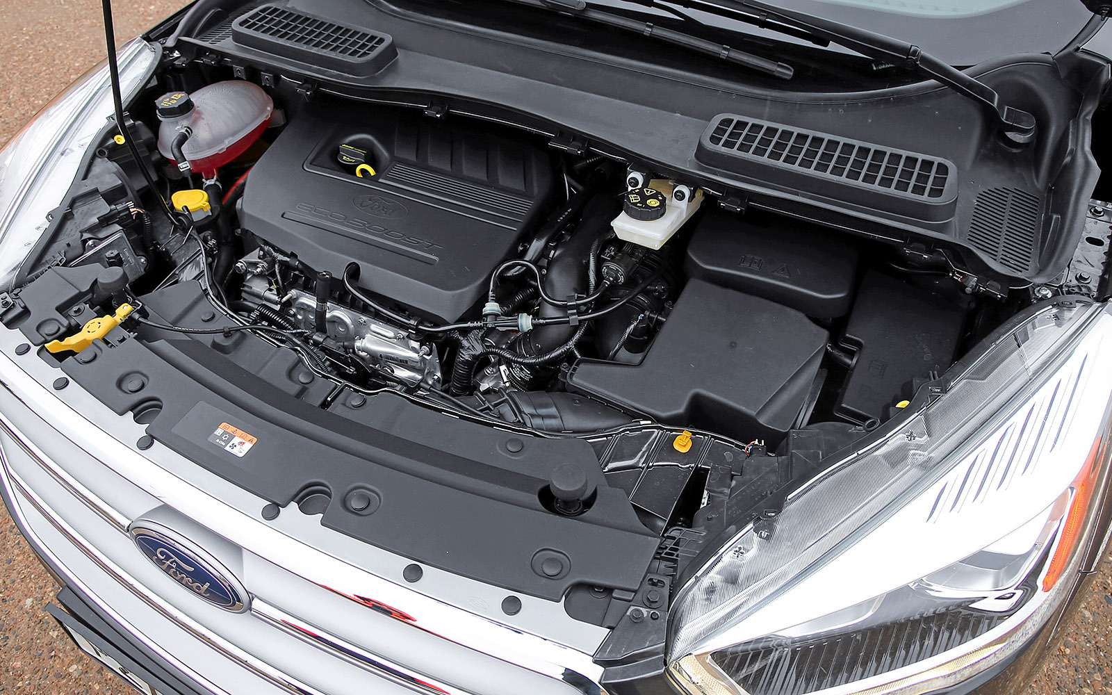 Обновленный Ford Kuga российской сборки: мыпоездили нанем первыми!— фото 674492