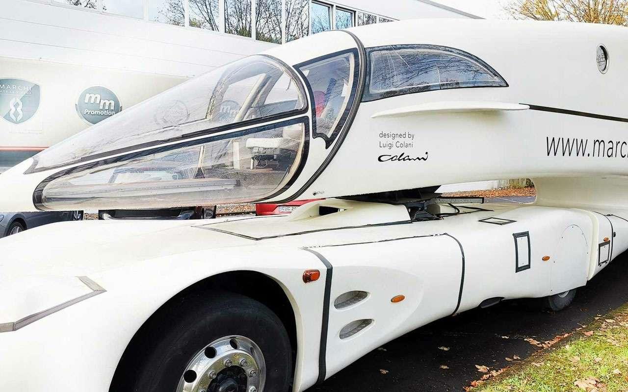 Напродажу выставили грузовик будущего— Innotruck— фото 1137262