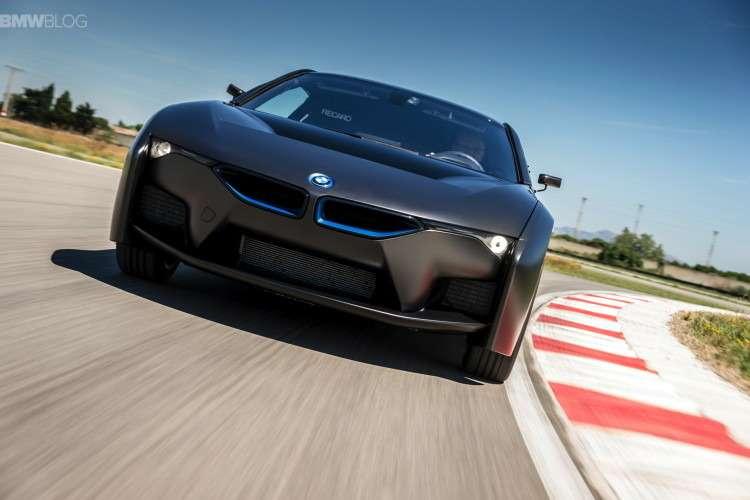 Прототип водородомобиля BMW