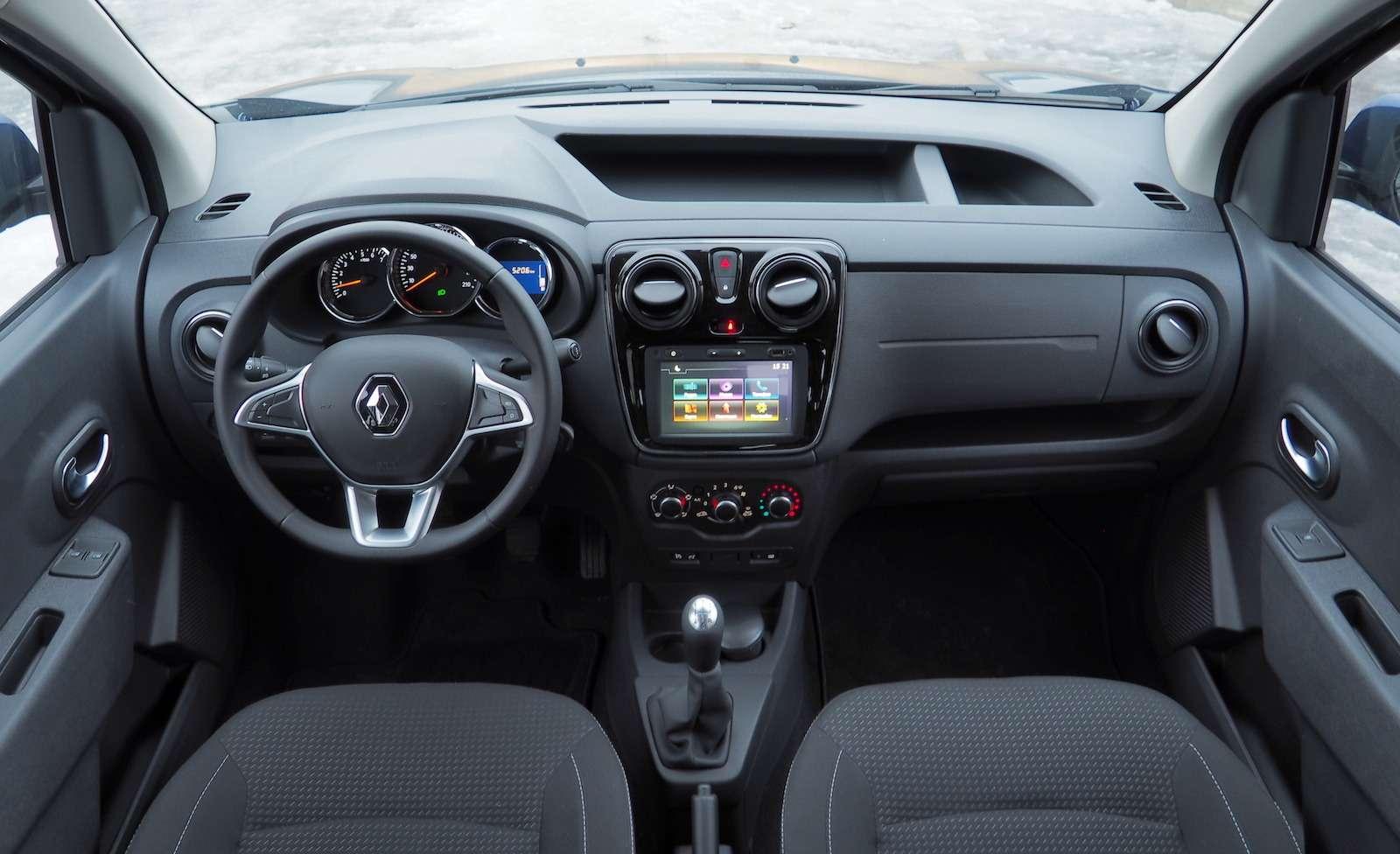 Renault Dokker— первый тест ипервые вопросы— фото 825727