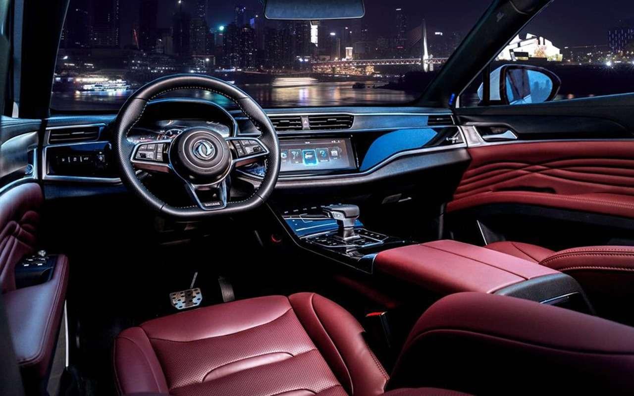 Кросс-купе Dongfeng Glory: вам вгорошек или вполосочку?— фото 1097682