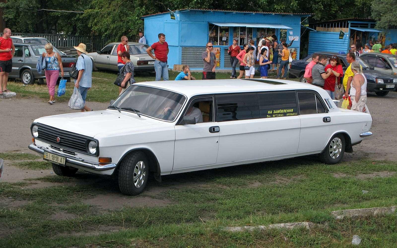 ГАЗ24Волга лимузин