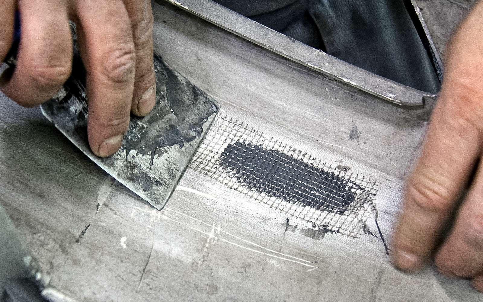 Ремонтируем бампер спомощью клея— инструкция ЗР— фото 779010