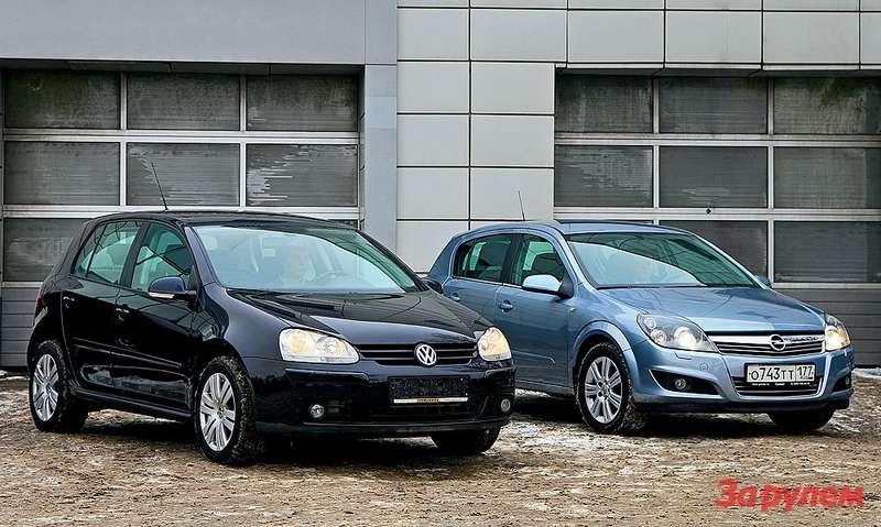 Opel Astra, Volkswagen Golf