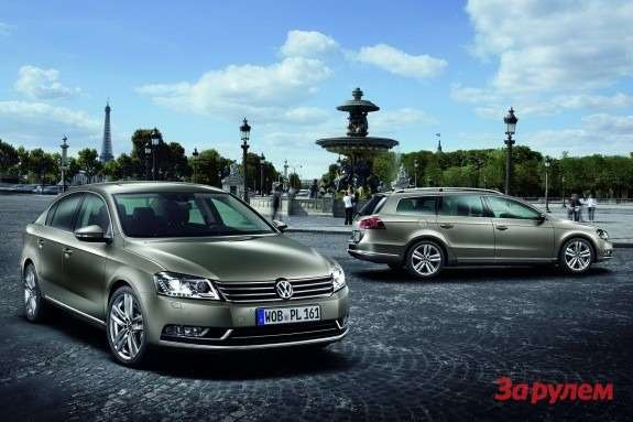 Volkswagen Passat and Passat Estate
