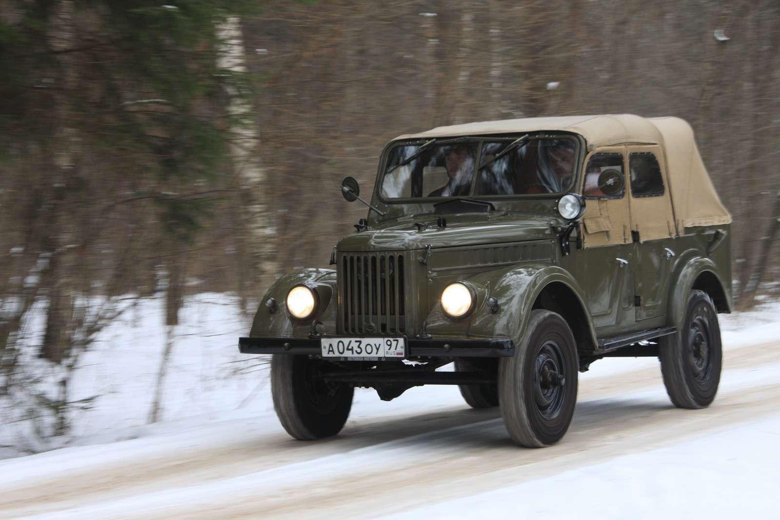 «Козел-труженик»: 11удивительных фактов оГАЗ-69— фото 1225229