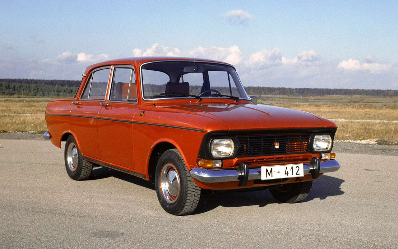 Уникальные версии Москвича-412: пикапы, спорткупе, хэтчбеки— фото 1053240