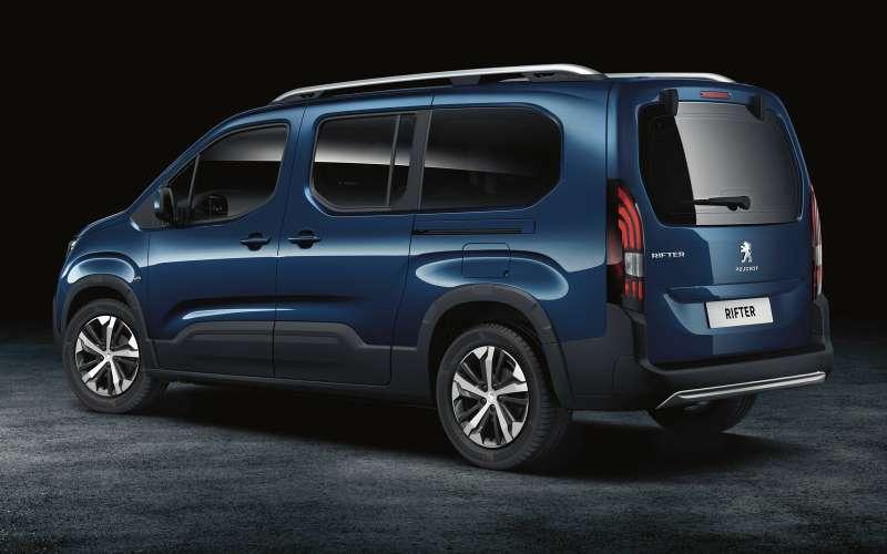 Больше Партнера: представлен внедорожный «каблучок» Peugeot Rifter