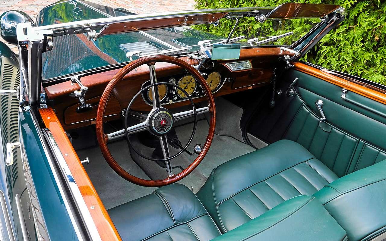 Очень редкий Мерседес W142— ретротест кабриолета-пенсионера— фото 950189