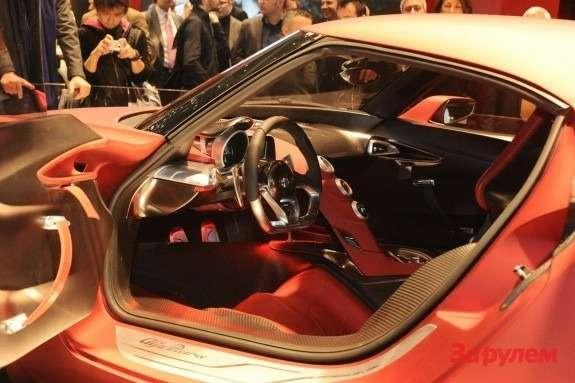 Alfa Romeo 4CConcept inside