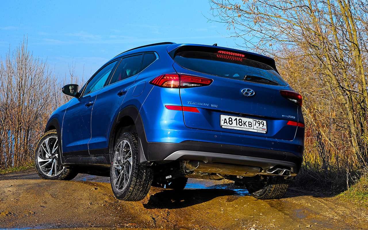 Новый Subaru Forester против конкурентов: большой тест кроссоверов— фото 935695
