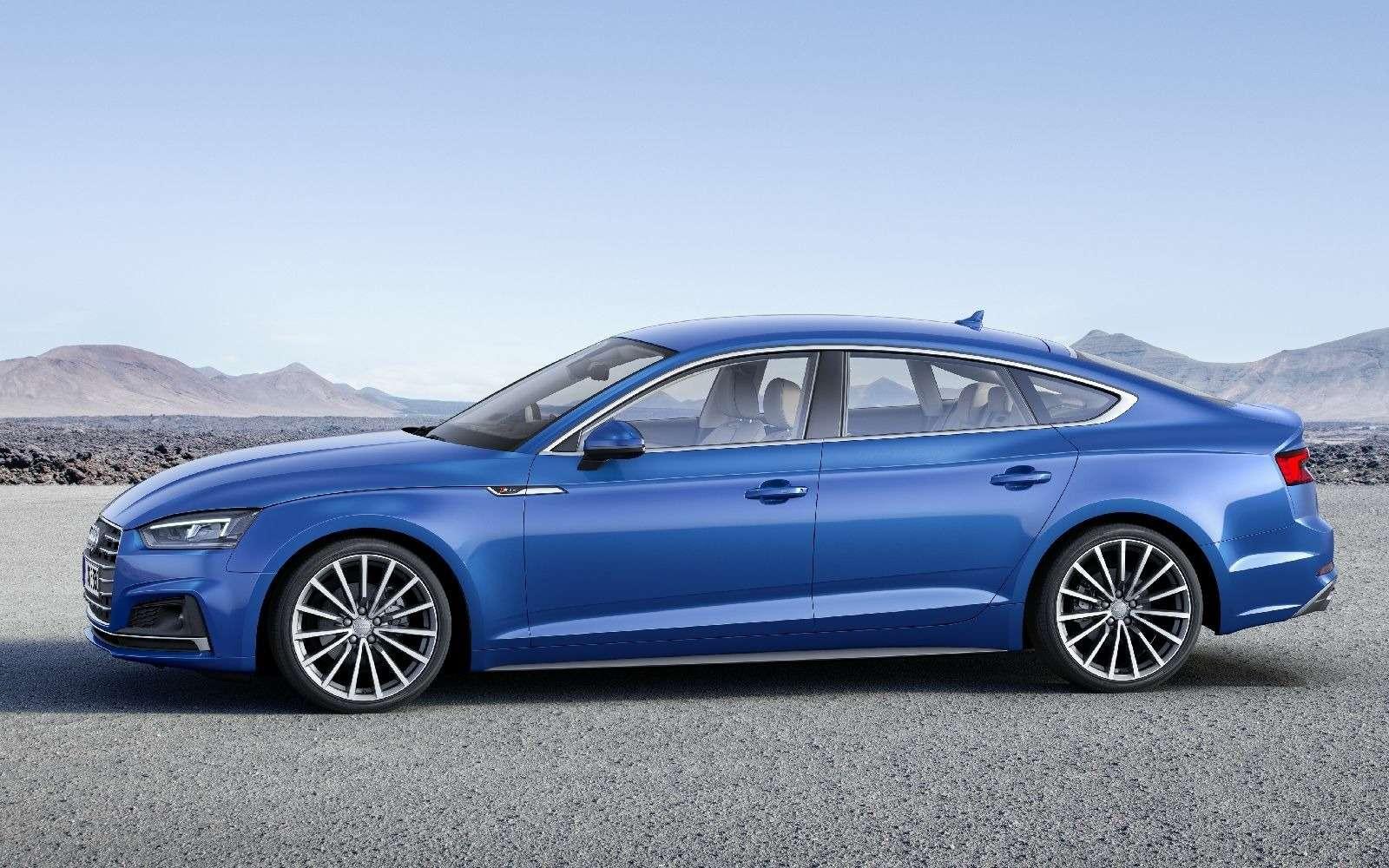 Пятая точка: Audi показала новый A5Sportback— фото 631251