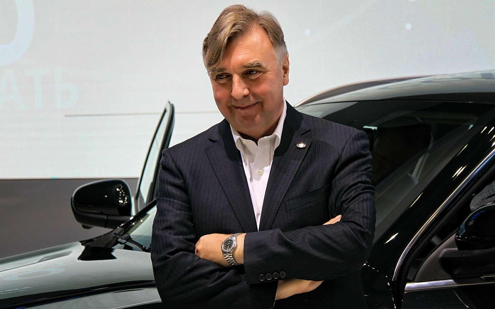Питер Хорбери, вице-президент подизайну холдинга Geely