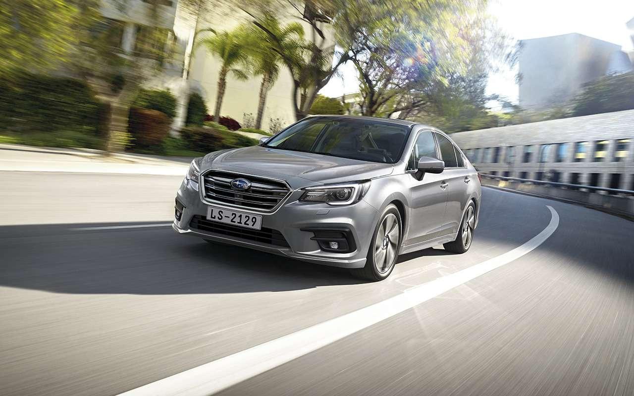 Subaru начала продажи обновленного Legacy— фото 958516