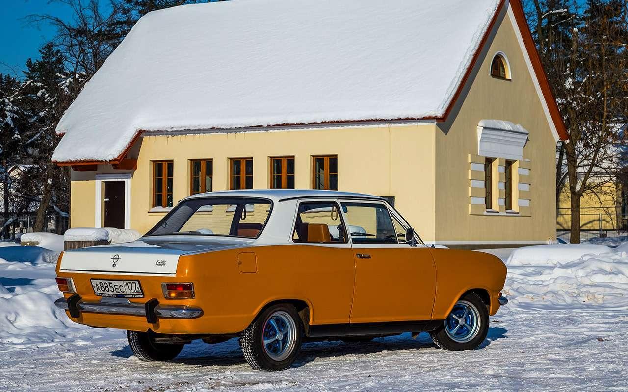 Советские автомобили против иномарок— супертест кюбилею— фото 858358