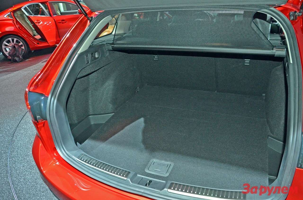 Багажник универсала Mazda6