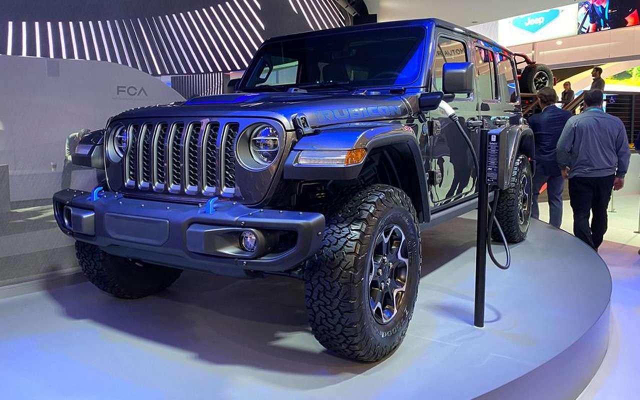 Суровый Jeep Wrangler поставили «подэлектричество»— фото 1053458