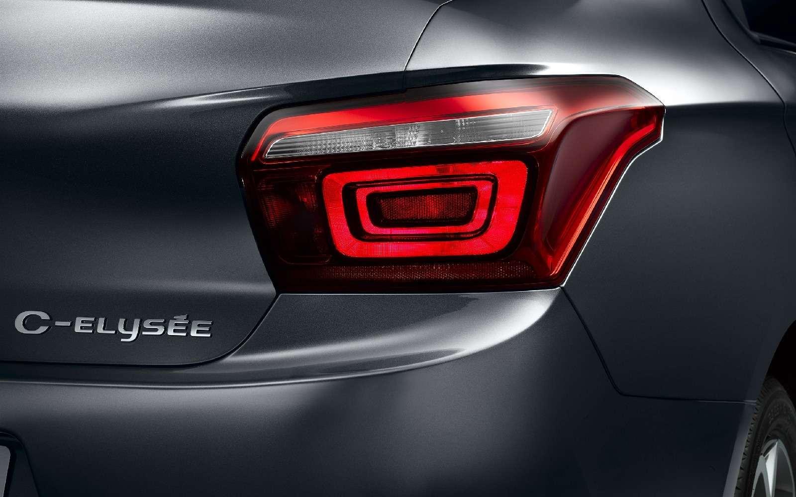 Недоступная дешевизна: Citroen обновил седан C-Elysee— фото 664025