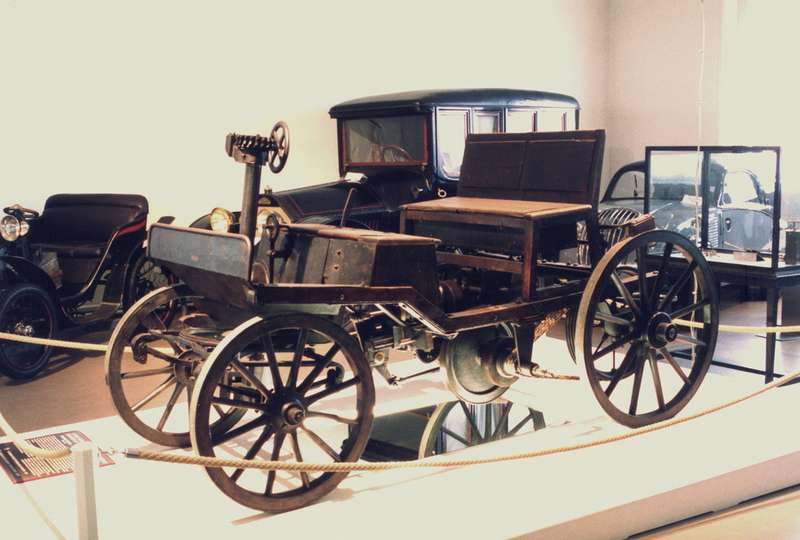 Второй автомобиль Маркуса, 1888— 1889гг.