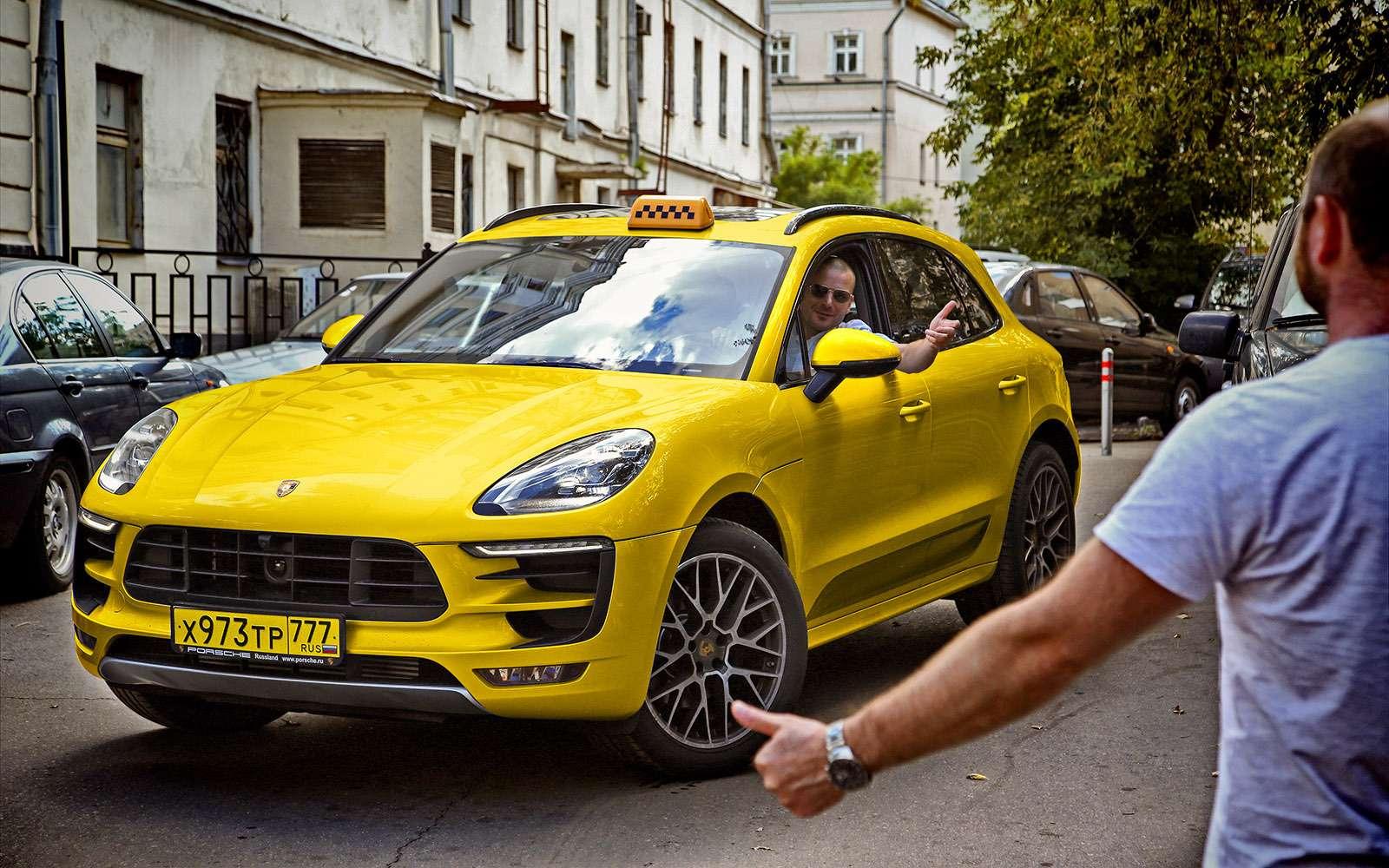 Porsche Macan Taxi edition