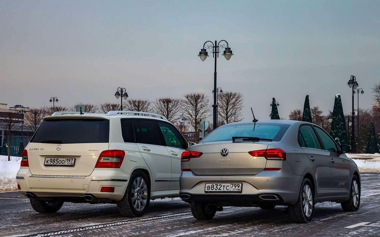 Новый VWPolo или старый Mercedes GLK? Выудивитесь!— фото 1231664