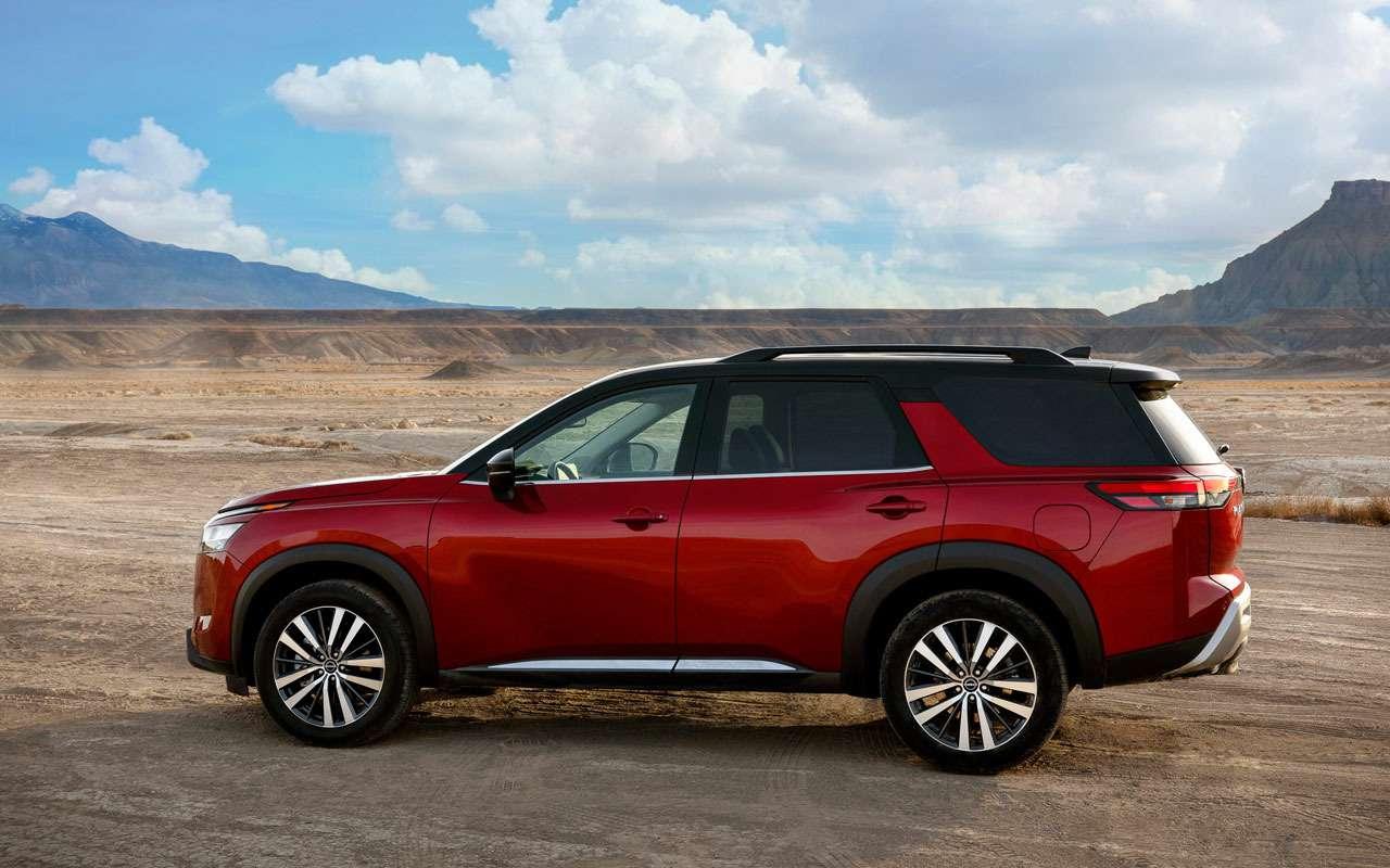 Новый Nissan Pathfinder— скоро вРоссии— фото 1221283