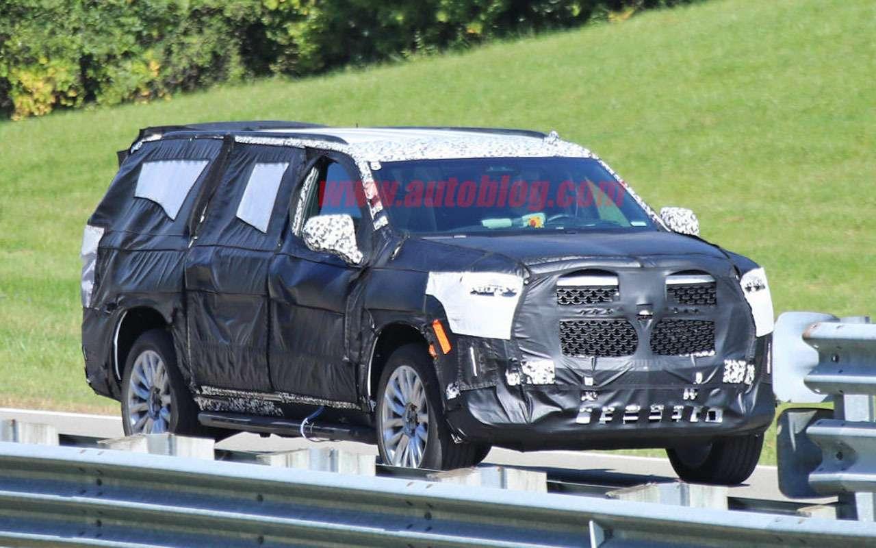 Cadillac готовит новый Escalade— тесты начались— фото 1000605
