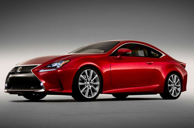 no copyright 2015 Lexus RC front view