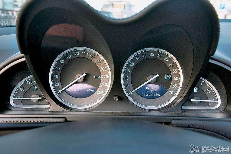 Тест Mercedes-Benz SL500. ЧТО МОГУТ КОРОЛИ— фото 68926