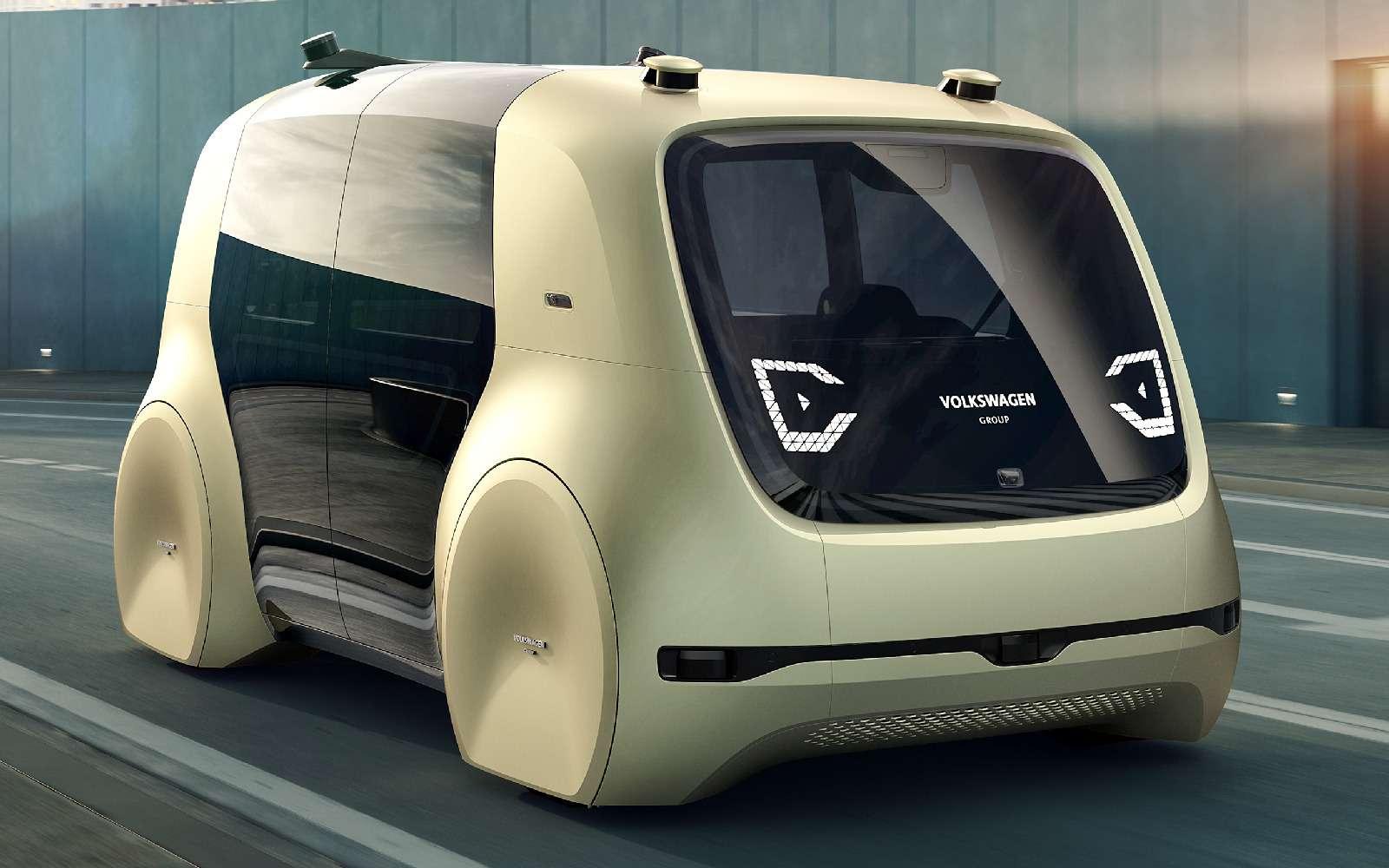 Volkswagen Sedric— германский ответ российской «Матрешке»— фото 717418