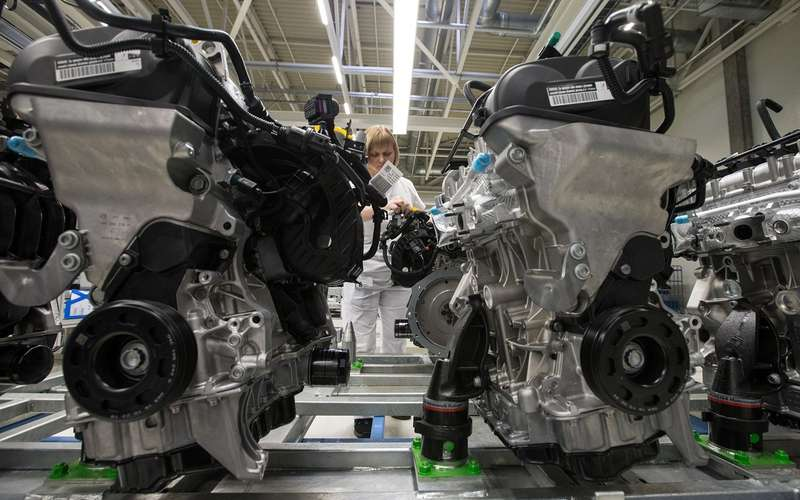 Завод вКалуге запять лет выпустил 600 тысяч двигателей Volkswagen