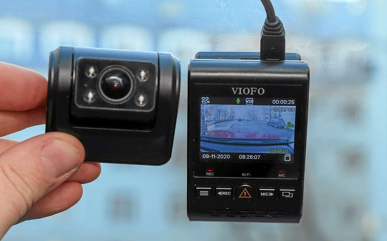 8 видеорегистраторов: содной исдвумя камерами— какой лучше?— фото 1210549