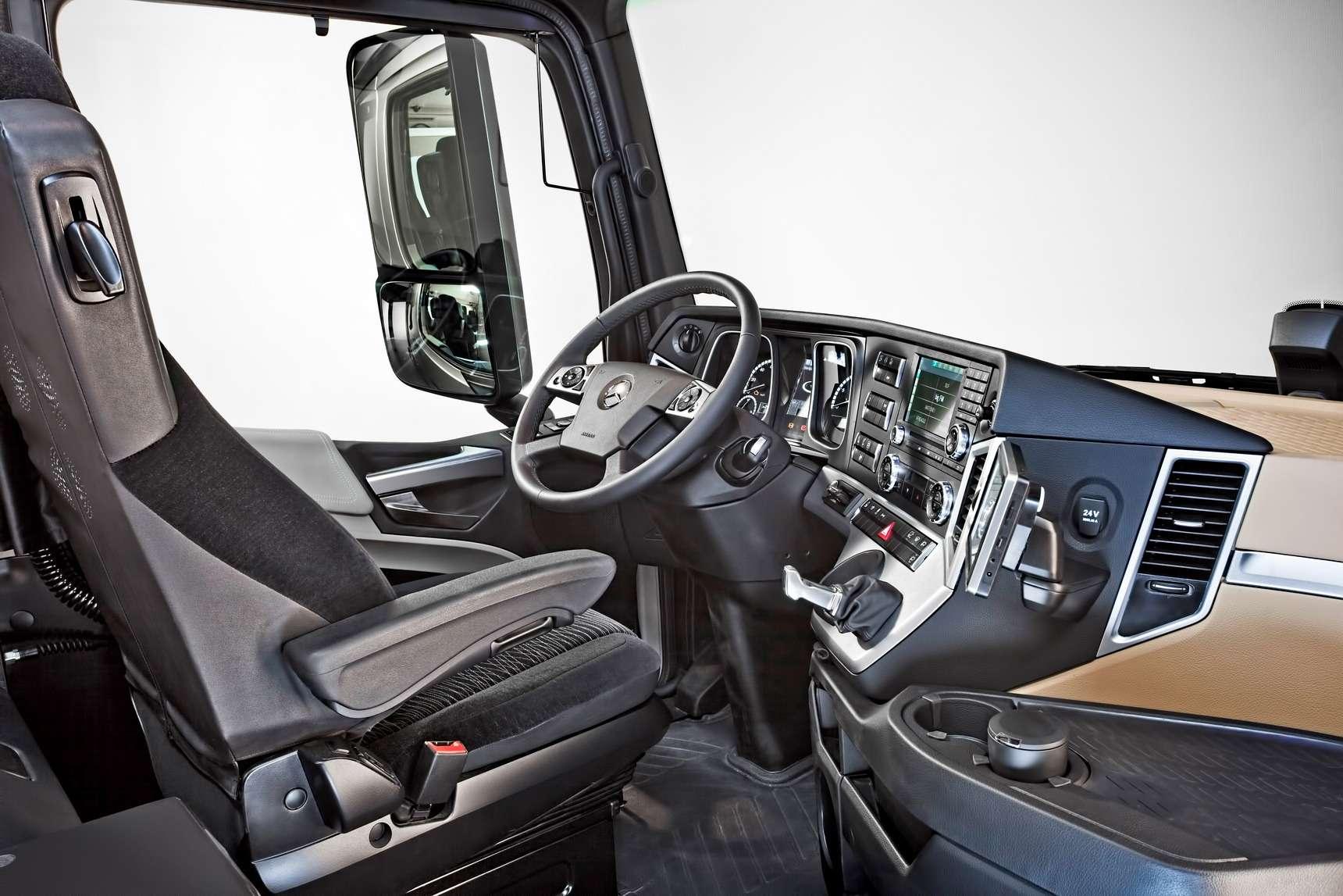 Какие кабины длягрузовиков КАМАЗ иMercedes-Benz будут выпускать вНабережных Челнах— фото 586590