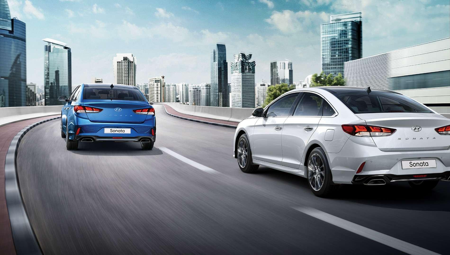 Hyundai объявила российские цены навернувшуюся Сонату— фото 796853