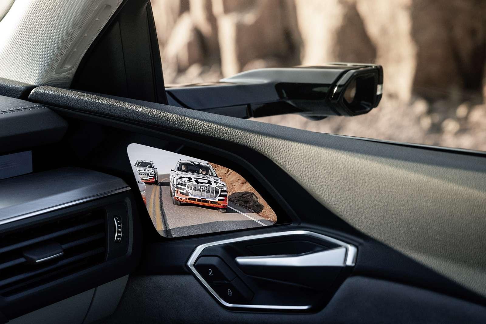 Audi e-tron quattro: два электромотора икамеры вместо зеркал— фото 910473