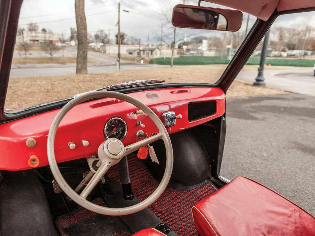 no_copyright_1958 Goggomobil interior