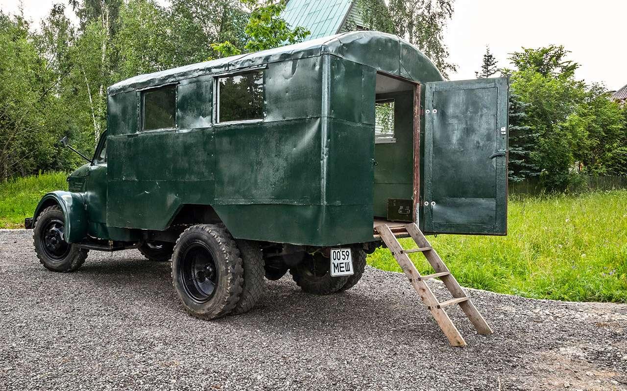 Свой парень: ретротест грузовика  ГАЗ-51— фото 845812