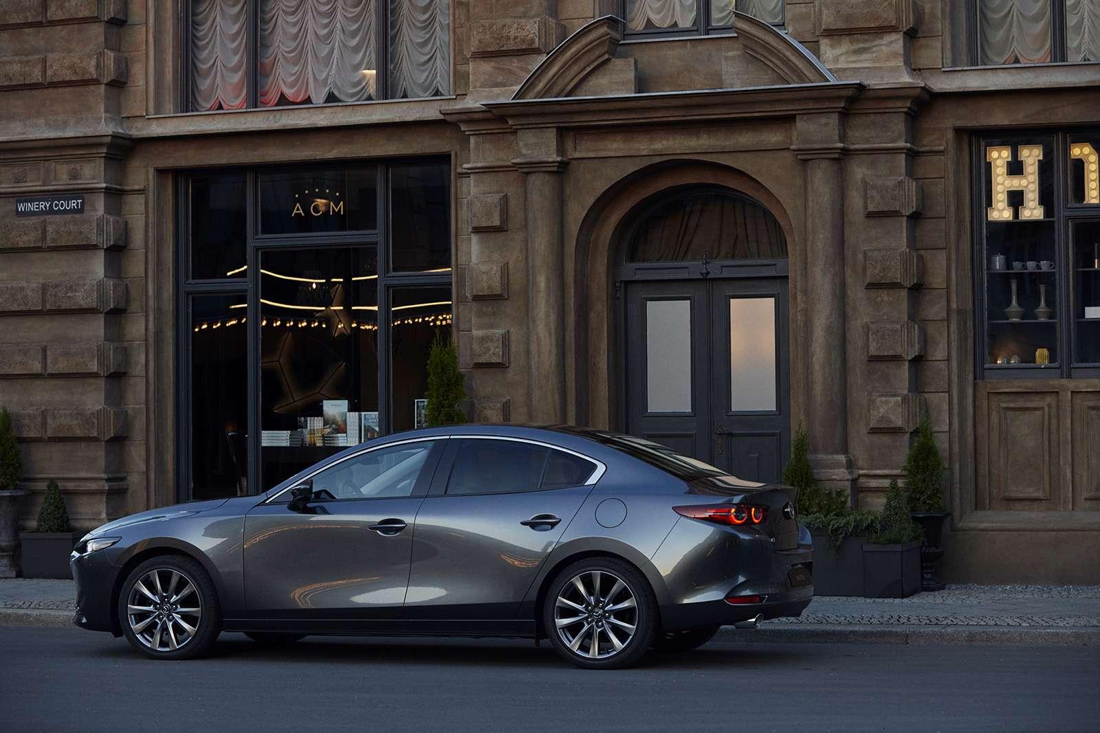 Новая Mazda 3: рассматриваем вдеталях совсех сторон— фото 928221