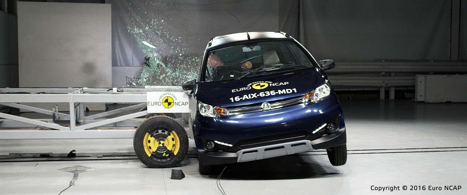 Euro NCAP огласил ужасающие результаты краш-тестов тяжелых квадроциклов— фото 573073