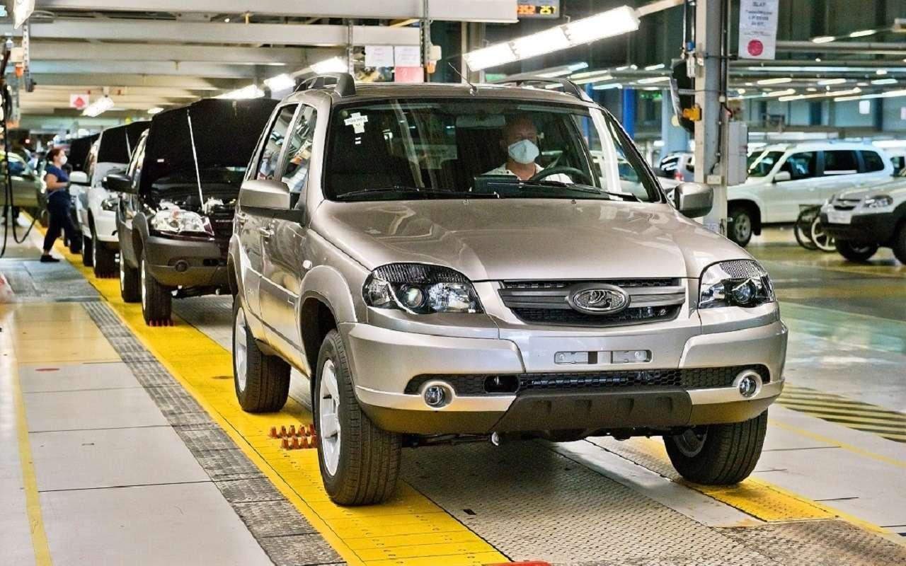 Lada Niva официально: как выглядит, какие приборы исколько стоит— фото 1144297