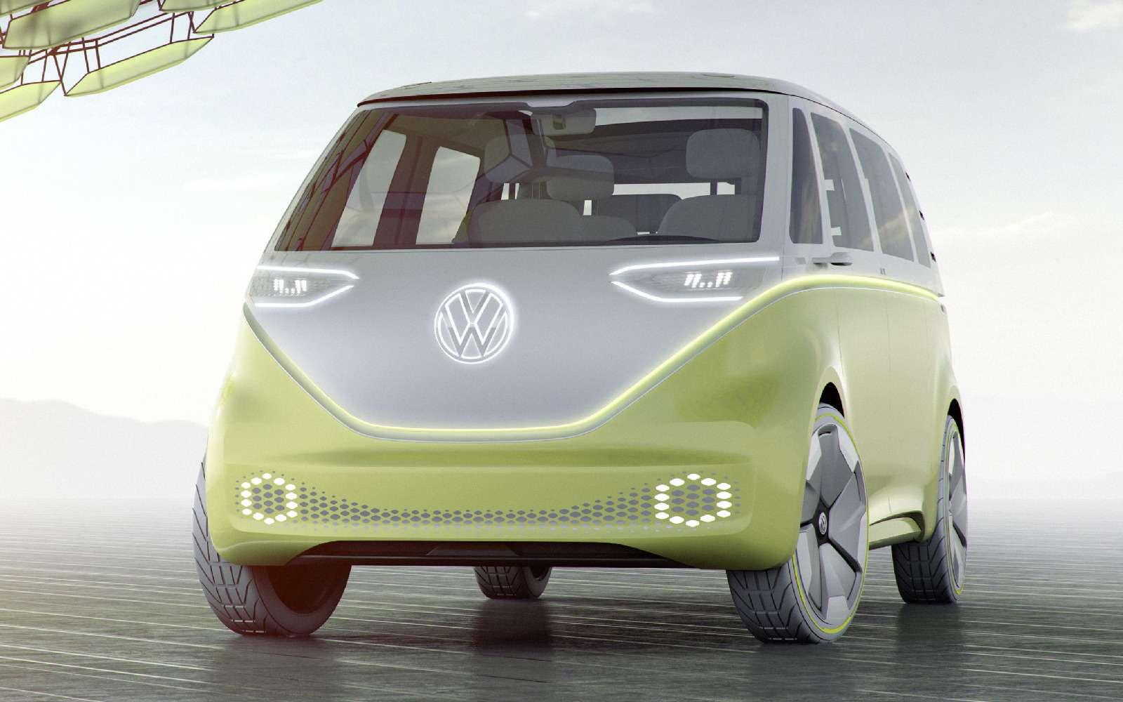 Volkswagen I.D.Buzz: между хиппи ихипстерами— фото 690405