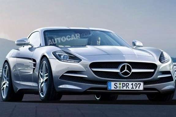 Mercedes-Benz SLC render
