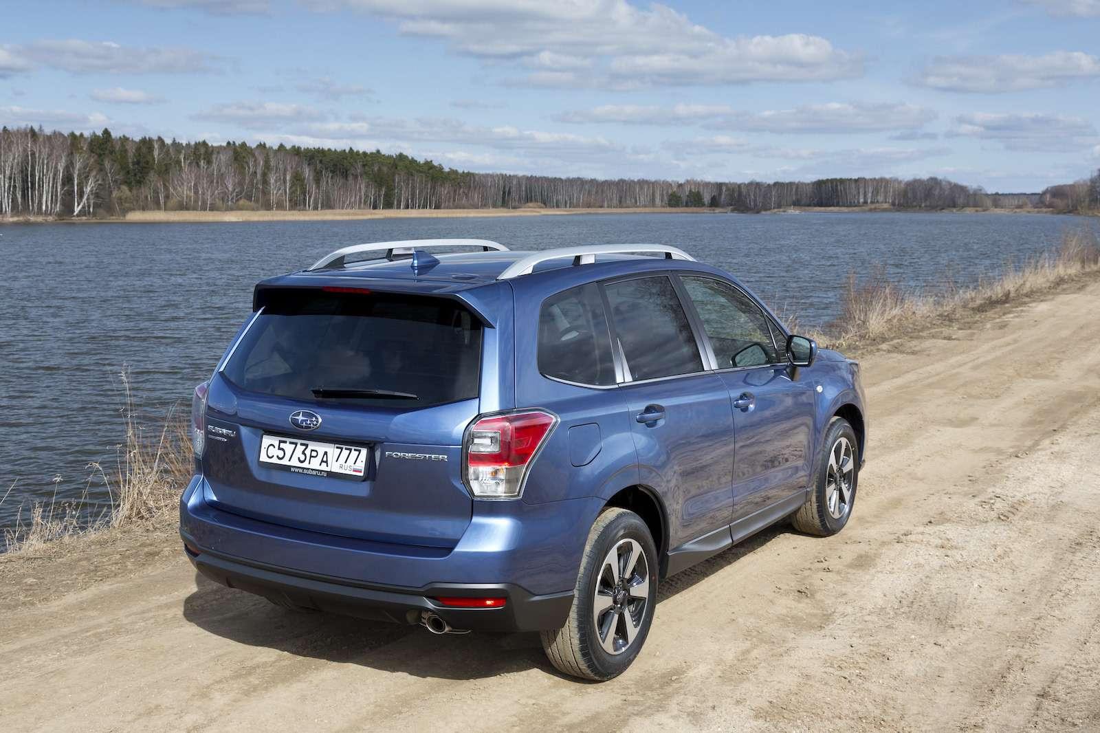Обновленный  Subaru Forester: тише едешь...— фото 594307