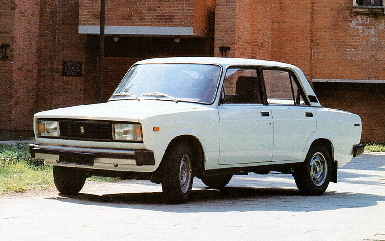 Мойпервый автомобиль: ВАЗ-2105— фото 859717