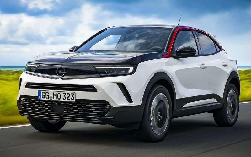 Новый Opel Mokka: известны двигатели икоробки