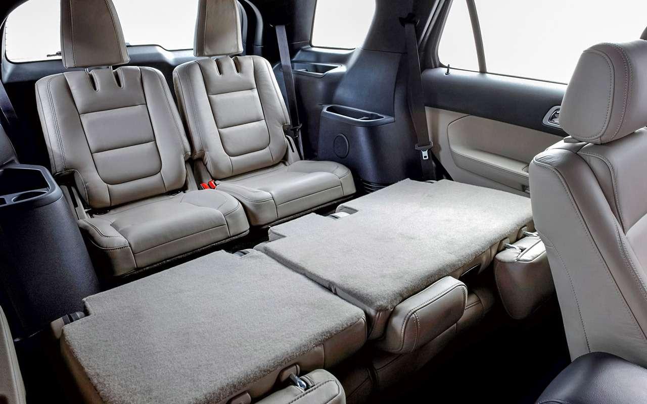 Ford Explorer (2011-2019): нашли 3преимущества и4проблемы— фото 1269599